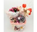 Caixa Aniversário florido fechada
